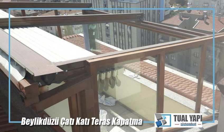 beylikdüzü çatı katı teras kapatma